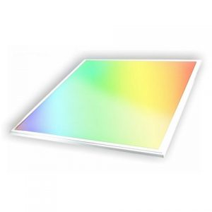 60x60 cm 36w recessed RGB CCT LED panel light